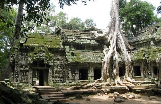 Храмовый комплекс долго был необитаем