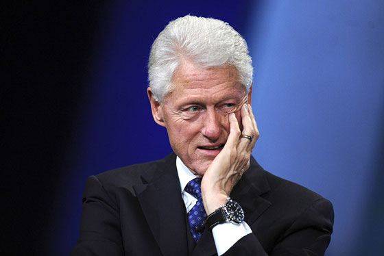 Политик Билл Клинтон