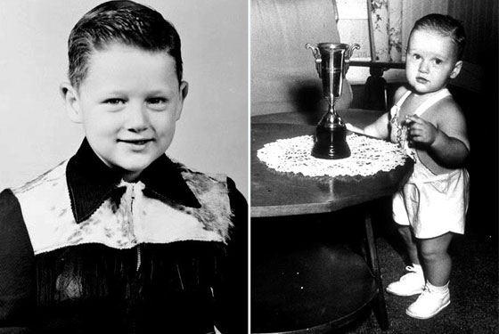 Билл Клинтон в детстве