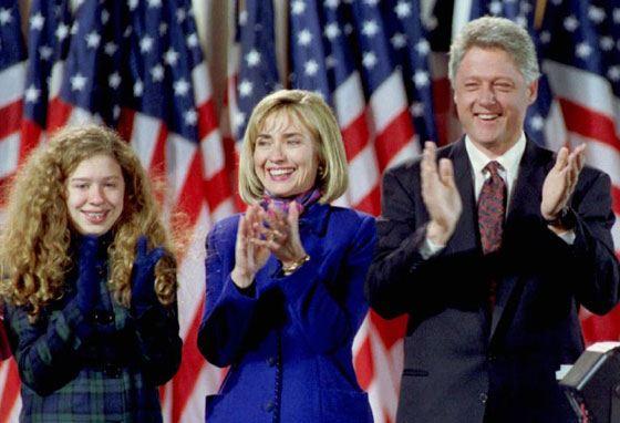 Билл Клинтон стал 42 президентом США