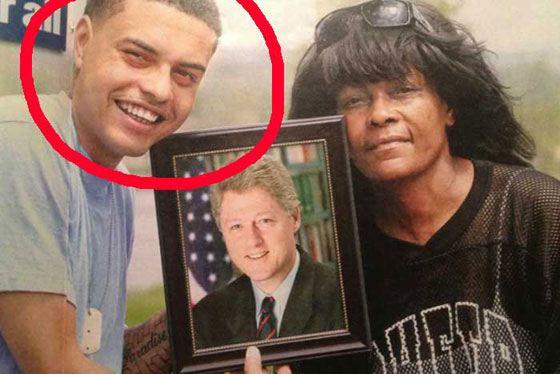 Дэнни Уильямс называет себя сыном Билла Клинтона