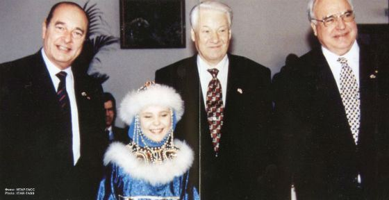 Маленькая Пелагея и три президента