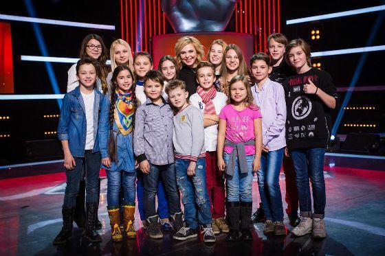 Второй сезон «Голос. Дети»: Пелагея с подопечными