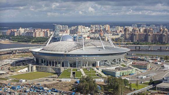 Инспекторы FIFA сочли поле «Зенит-Арены» непригодным для игр