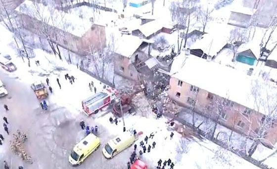 Взрыв бытового газа в Иваново