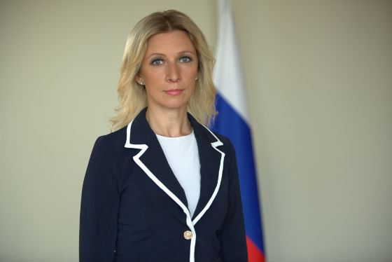 Maria Zakharova is one of the most powerful Russians