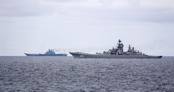 """""""Admiral Kuznetsov"""" and """"Peter the Great"""" are preparing for a strike on Aleppo"""