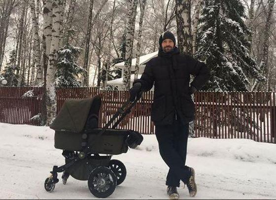 Владимир Кристовский в 5-й раз стал отцом