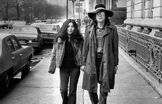 Джон Леннон и Йоко Оно, 1973 год