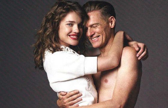 Адамс и Водянова в рекламе благотворительного аукциона Bazaar Heart DINNER
