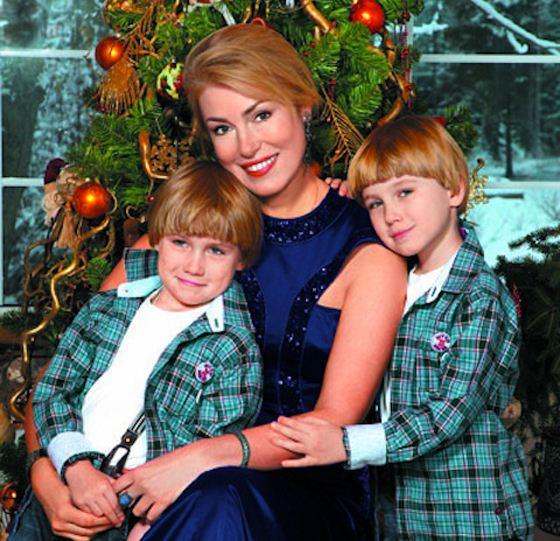 Мария Шукшина с Фомой и Фокой