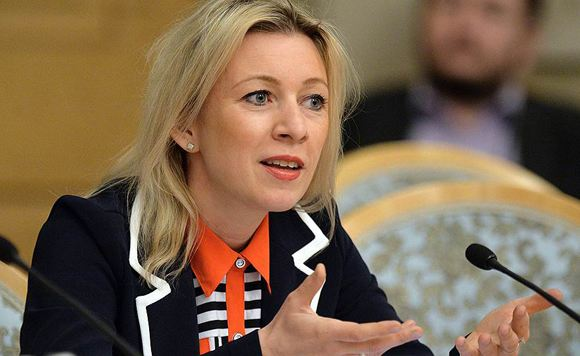 Maria Zakharova threatens State Department with sanctions against American journalists