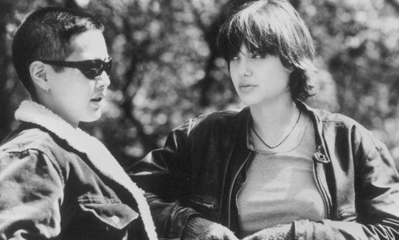 Анджелина Джоли и ее бывшая подружка Дженни Шимицу