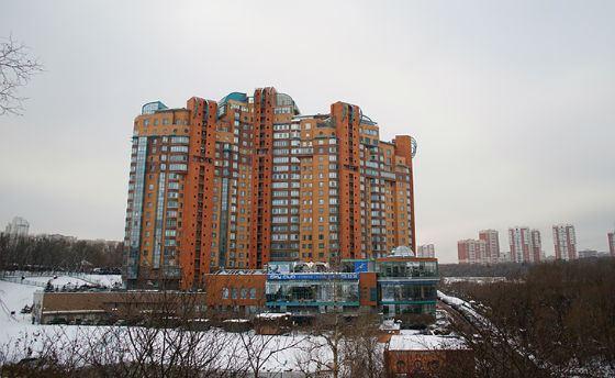 Жилой комплекс, где находится квартира Алексея Улюкаева