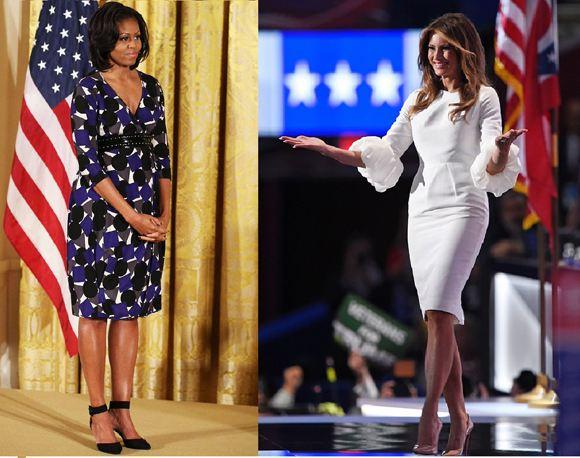Легендарная штатская иммигрантка объявила швейный бойкот Мелании Трамп