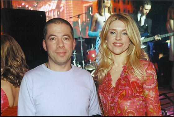 Arkady Novikov and his wife Nadezhda