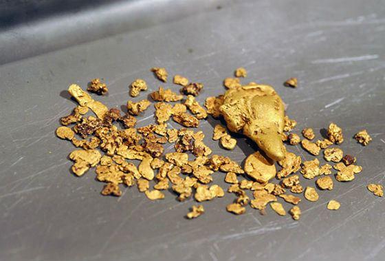 Найденная на дороге банка с золотом довела амурчанина до уголовной статьи