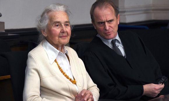 88-летяя Урсула Хафербек может отправиться в тюрьму за отрицание Холокоста
