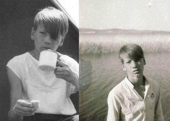 Александр Устюгов в детстве и юности