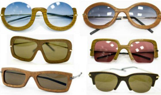 Очки с деревянной оправой iWood  бывают разной формы