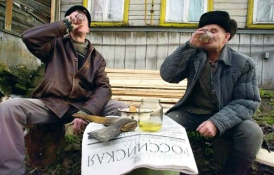 Больше всего пьют в северных регионах России