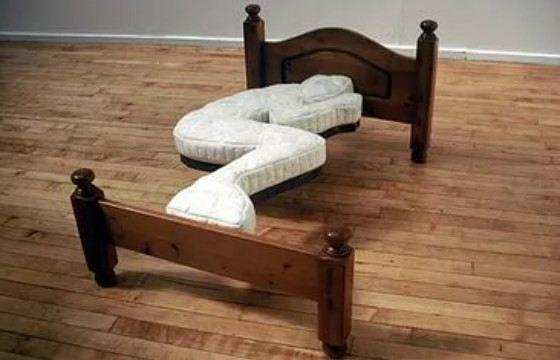 Некоторые креативные кровати удобными не кажутся