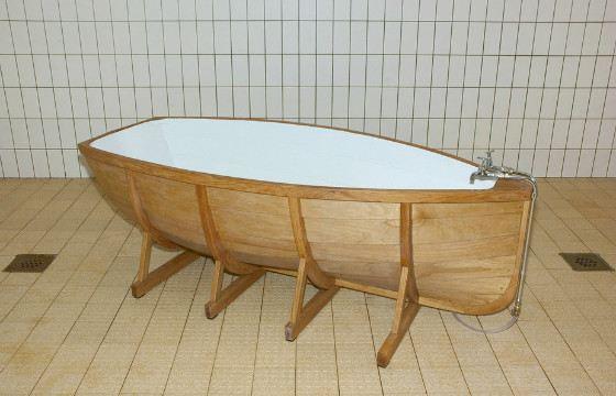 Ванна-лодка займет немного места