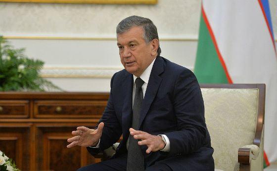 President of the Republic of Uzbekistan Shavkat Mirziyayev