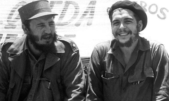 Фидель Кастро и Эрнесто Че Гевара