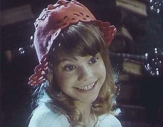 Яна в роли Красной шапочки