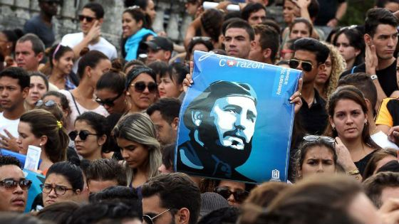 After the death of Castro in Cuba, a 9-day mourning was declared