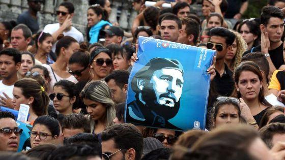 После смерти Кастро на Кубе был объявлен 9-дневный траур