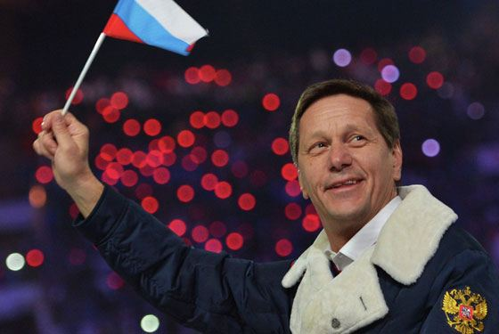 Alexander Zhukov - President of the Olympic Committee