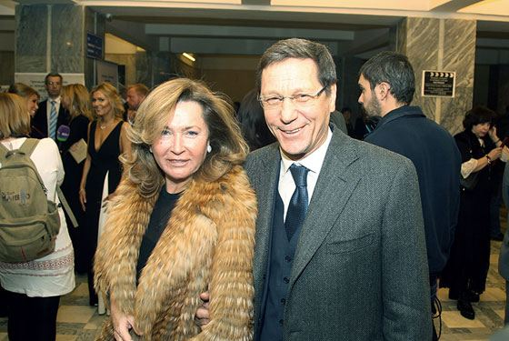 Alexander Zhukov and his wife