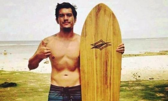 In his youth, Rodrigo Duterte was surfing