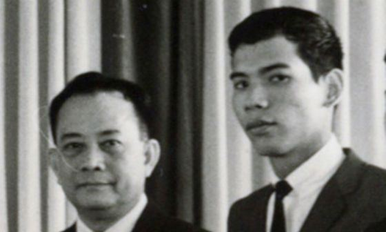 Father Duterte was also a prominent Filipino politician