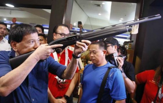 Duterte advocated lifting the death penalty moratorium