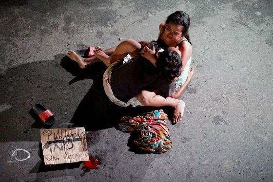 By order of Duterte, the bodies of drug dealers are thrown out of the city