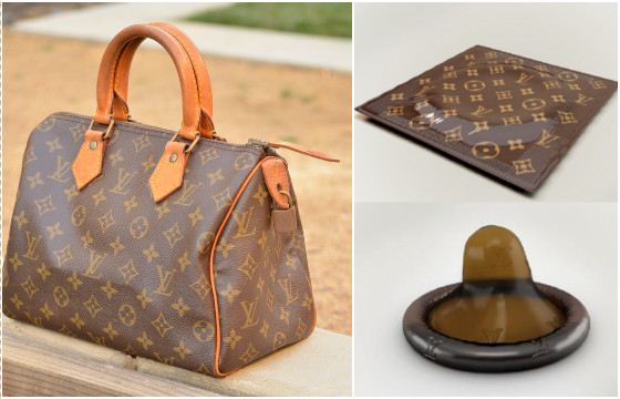 Louis Vuitton - from the bag to the condom