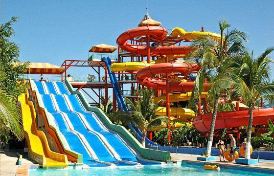 Посещение аквапарка - праздник воды