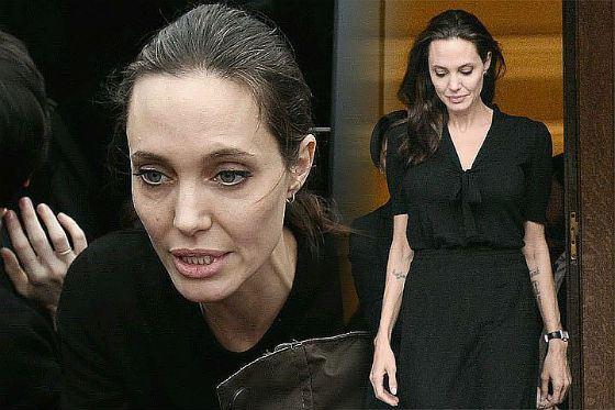 В апреле этого года Джоли весила 36 килограммов