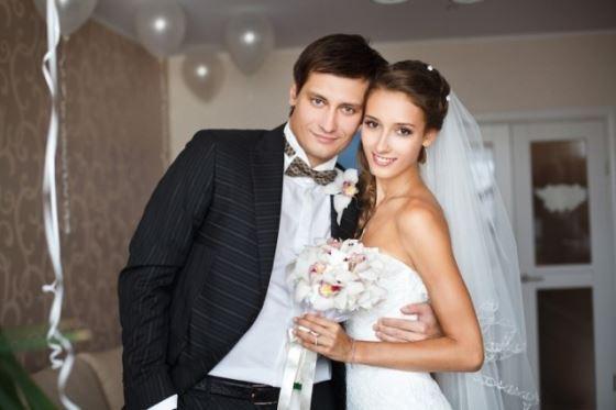 Dmitry Gudkov and his wife Valeria