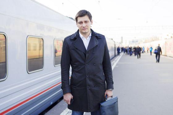 "Dmitry Gudkov ran for the party ""Yabloko"""