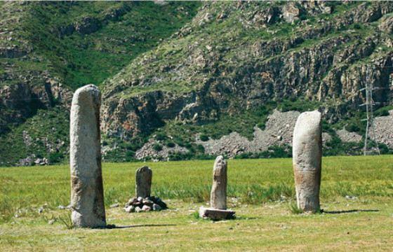 В заповедной зоне плато Укок много таинственных мест