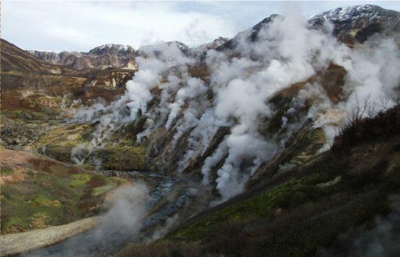 Долина гейзеров - незабываемое место