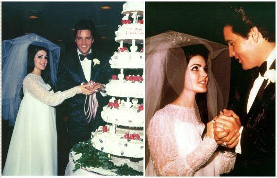 Свадьба Присциллы и Элвиса Пресли
