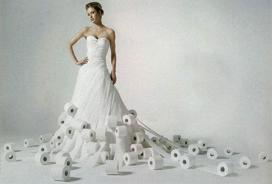 60b7c86fb0a2 Самые необычные свадебные платья в мире   Интересные факты
