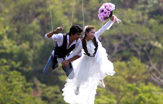 Интересной свадьбу можно сделать при любом бюджете