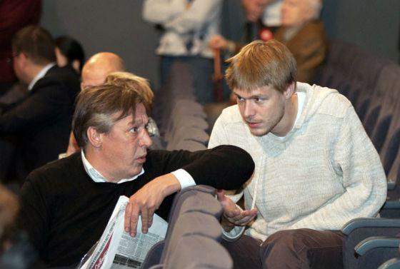 Михаил Ефремов со старшим сыном Никитой