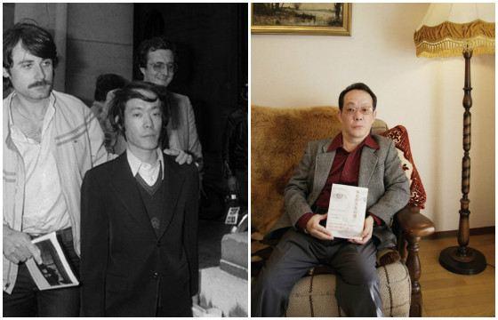 Иссей Сагава во время ареста и после освобождения
